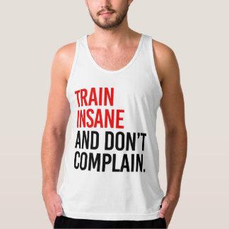 Regata O trem insano e não se queixa