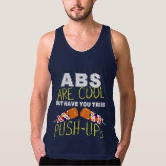 Regata Os Abs são legal, têm-no t-shirt tentado de