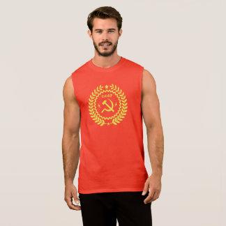 Regata Os t-shirt sem mangas dos homens do martelo & da