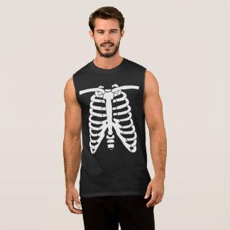 Regata Ossos de esqueleto brancos do raio X