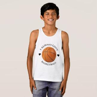 Regata paixão do esporte do amor do basquetebol