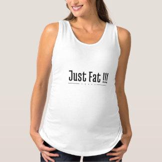 Regata Para Gestantes Apenas t-shirt de maternidade gordo
