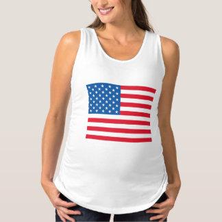 Regata Para Gestantes Bandeira dos EUA