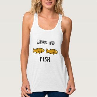 Regata peixes que nadam
