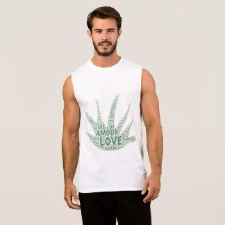 Regata Planta de Alove Vera ilustrada com palavra do amor