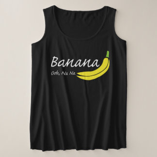 Regata Plus Size Banana, Ooh, Na do Na