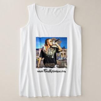 Regata Plus Size Eu ganhei este HipHop das mulheres mais o t-shirt