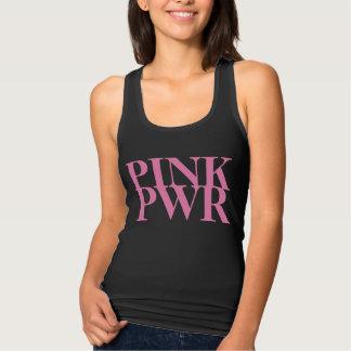Regata Poder cor-de-rosa