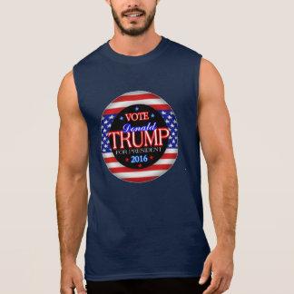Regata Presidente 2016 da bandeira de Donald Trump