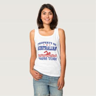 Regata propriedade da equipe de natação australiana