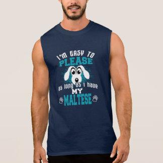Regata Proprietários engraçados do cão maltês