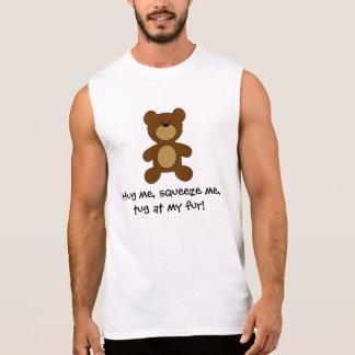 Regata Reboque em meu urso alegre da pele