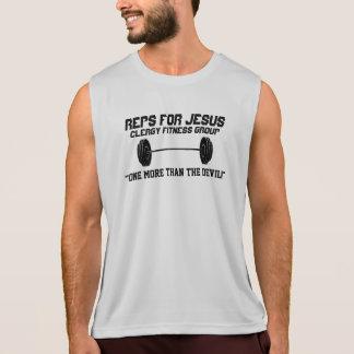 Regata Reps para o t-shirt de Jesus - Exorcise