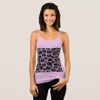 Regata Rosa do t-shirt dos desenhistas com teste padrão