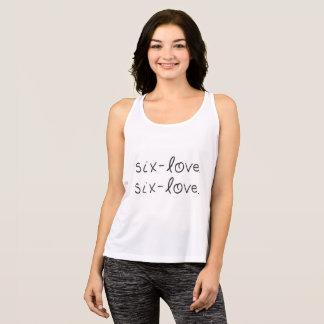 Regata Seis-Amor, camisola de alças do Seis-Amor