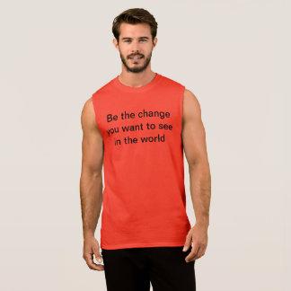 Regata Seja o t-shirt da mudança
