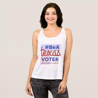 Regata Seja um tanque das mulheres do eleitor de Texas
