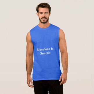Regata Sem mangas em Seattle - Tshirt dos homens