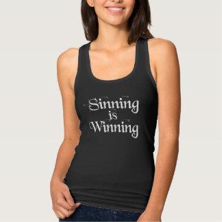 Regata Sinning está ganhando o tanque das mulheres