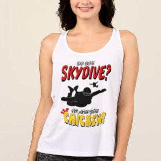 Regata Skydive ou galinha? (preto)
