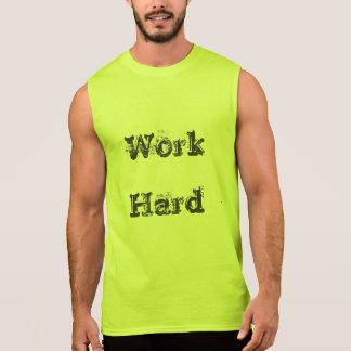 Regata T do duro do trabalho