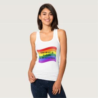 Regata T do orgulho de LGBT