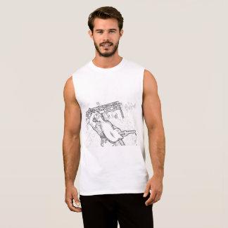 Regata T-shirt - cantor que executa no palco