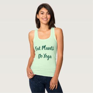 Regata T-shirt da ioga do Vegan