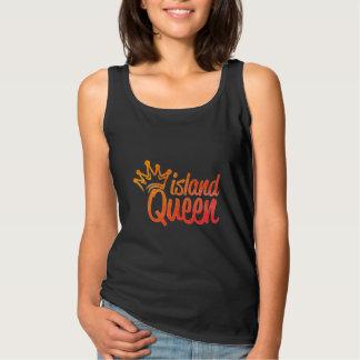 Regata T-shirt da rainha da ilha