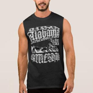 Regata T-shirt de Alabama da navio de guerra