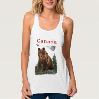Regata t-shirt de Canadá