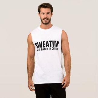 Regata T-shirt do exercício dos homens & camisolas de
