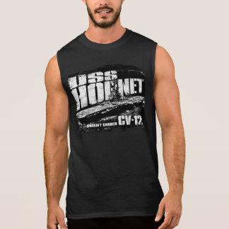 Regata T-shirt do zangão do porta-aviões