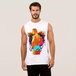 Regata T-shirt legal do músculo do homem