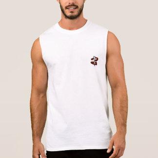 Regata T-shirt sem mangas do lançamento em ferradura