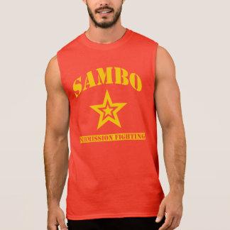Regata T-shirt sem mangas do Sambo
