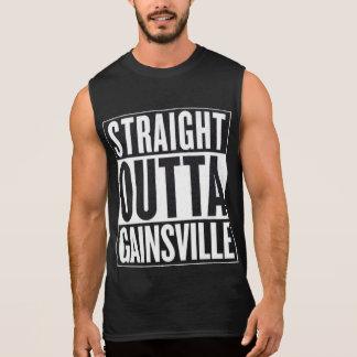 Regata T-shirt sem mangas reto de Outta Gainsville
