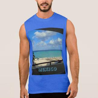 Regata T-shirt ultra sem mangas dos homens de México