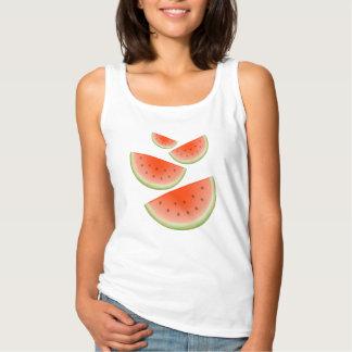 Regata Teste padrão da melancia