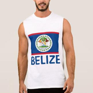 Regata Texto azul customizável da bandeira de Belize