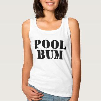 Regata Texto bonito do vagabundo da piscina do verão do