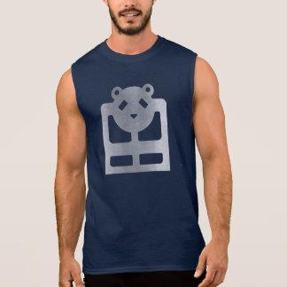Regata Tshirt sem mangas HQH do marinho dos homens do