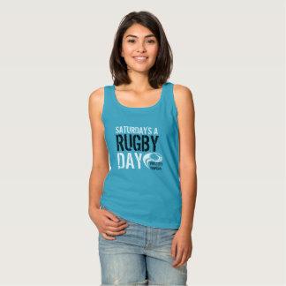 Regata Um AZUL do dia do rugby de sábado