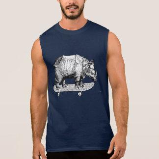 Regata Unicórnio carnudo Skateboarding do rinoceronte do