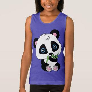 Regata Urso de panda de bambu comer bonito