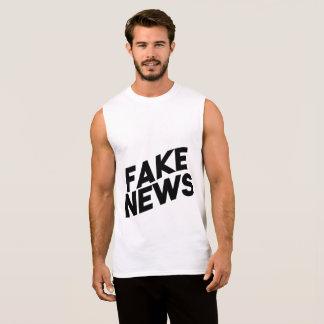 Regata Verdade elegante do cargo da notícia falsificada