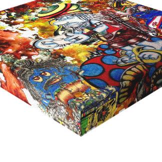 Reggae Impressão Em Tela Canvas
