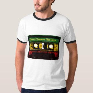 Reggae customizável II da velha escola Tshirts