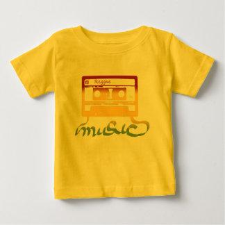 reggae da fita do rasta camiseta para bebê