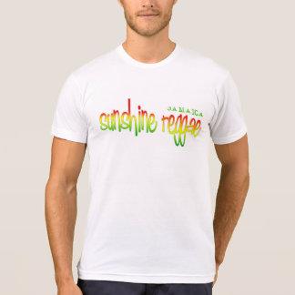 Reggae da luz do sol - Jamaica Camiseta